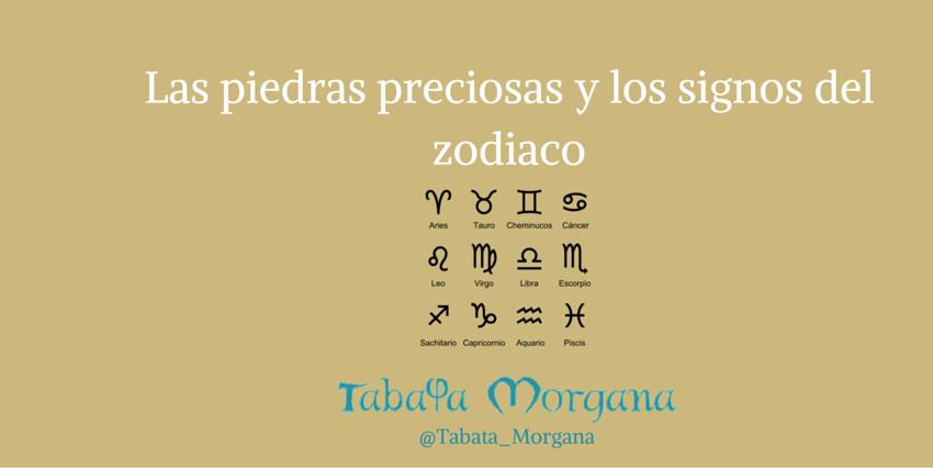 las piedras preciosas y los signos del zodiaco