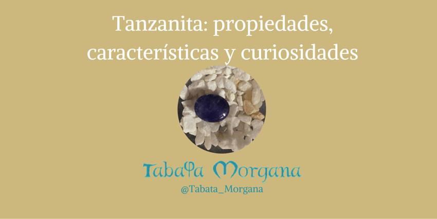 tanzanita piedra preciosa