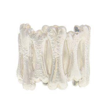 Anillo de plata huesos de Tabata Morgana