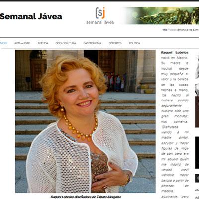 Entrevista-en-Semanal-JAvea-Raquel-Lobelos-diseñadora-Tabata-Morgana