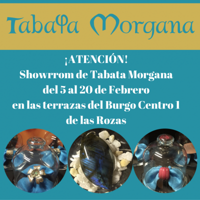 exposicion TABATA MORGANA terrazas del burgo centro Las rozas